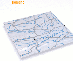 3d view of Bodonci
