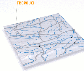 3d view of Tropovci