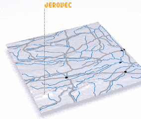 3d view of Jerovec