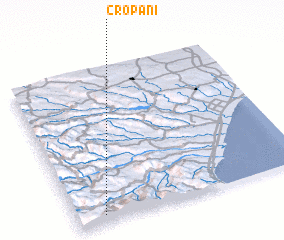 3d view of Cropani