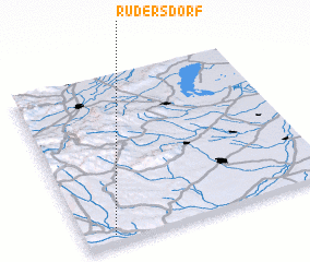 3d view of Rudersdorf