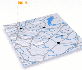 3d view of Palm