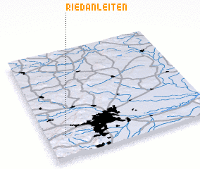 3d view of Riedanleiten