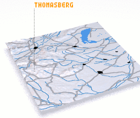 3d view of Thomasberg