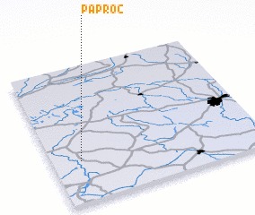 3d view of Paproć