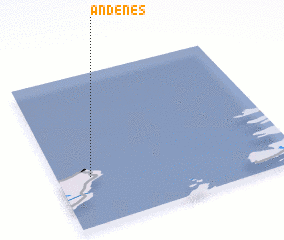 3d view of Andenes