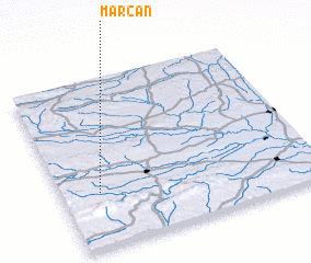 3d view of Marčan
