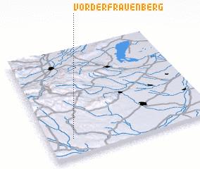3d view of Vorderfrauenberg