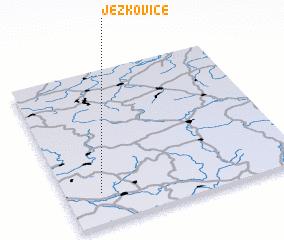 3d view of Ježkovice