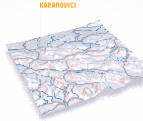 3d view of Karanovići