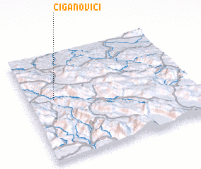 3d view of Ciganovići