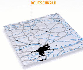 3d view of Deutschwald