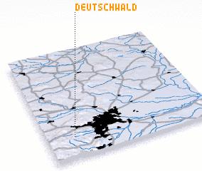 3d view of Deutschwald