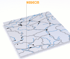 3d view of Hoděčín