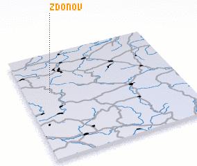 3d view of Zdoňov
