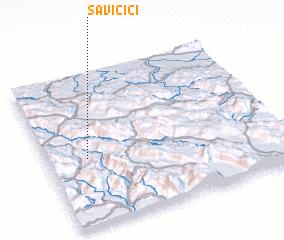 3d view of Savičići