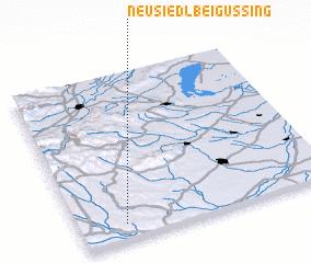 3d view of Neusiedl bei Güssing