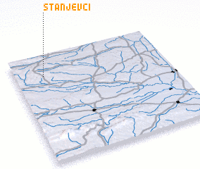3d view of Stanjevci