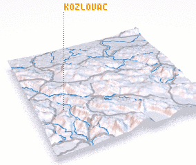 3d view of Kožlovac