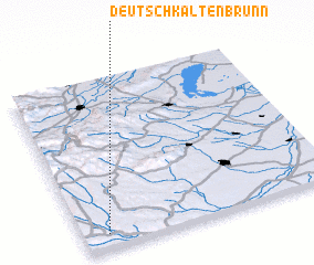 3d view of Deutsch Kaltenbrunn