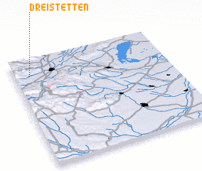3d view of Dreistetten