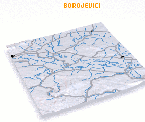 3d view of Borojevići