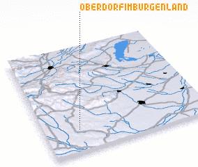 3d view of Oberdorf im Burgenland