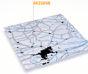 3d view of Arzgrub