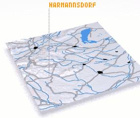 3d view of Harmannsdorf