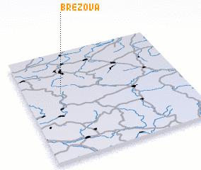 3d view of Březová