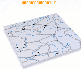 3d view of Kuźnice Świdnickie