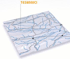 3d view of Tešanovci