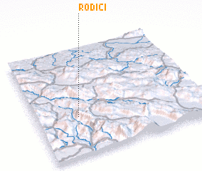 3d view of Rodići