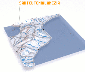 3d view of Sant'Eufemia Lamezia