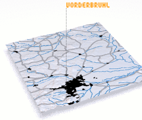 3d view of Vorderbrühl