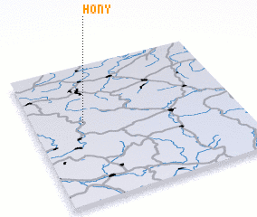 3d view of Hony