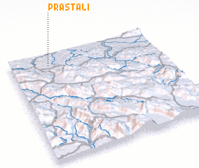 3d view of Praštali