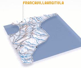 3d view of Francavilla Angitola