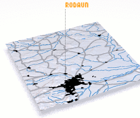 3d view of Rodaun