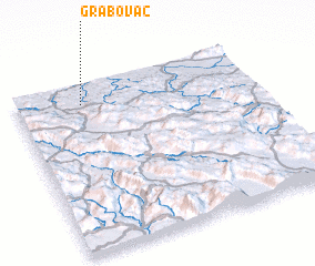 3d view of Grabovac