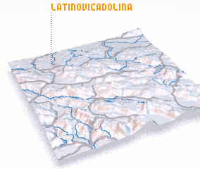 3d view of Latinovića Dolina