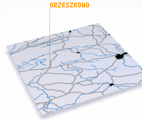 3d view of Orzeszkowo