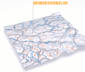 3d view of Gruborski Naslon