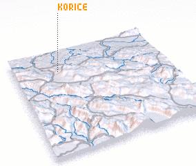 3d view of Korice