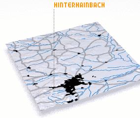 3d view of Hinterhainbach