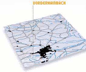 3d view of Vorderhainbach