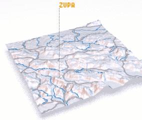 3d view of Župa