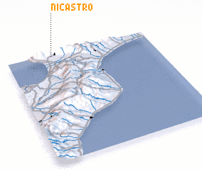 3d view of Nicastro