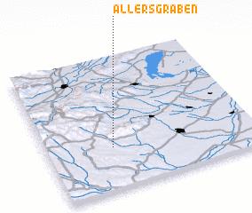 3d view of Allersgraben