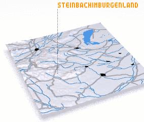 3d view of Steinbach im Burgenland